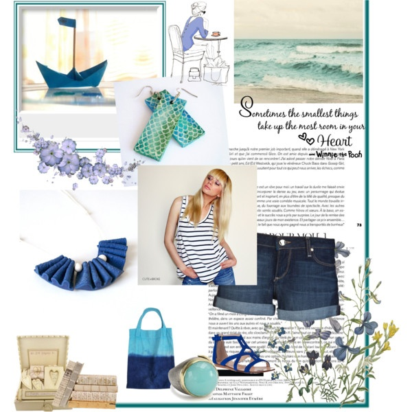 http://www.polyvore.com/last_summer_days/set?id=57233579  print: http://www.etsy.com/listing/97394898/blue-nursery-decor-paper-boat-still-life  earrings: https://www.etsy.com/listing/101888159/mermaid-earrings-hand-painted-fish-scale  necklace: http://www.etsy.com/listing/102944663/frills-bib-necklace-dark-blue-ruffles  tshirt: http://www.etsy.com/listing/75447318/striped-tank-top-raw-edges-low-armholes