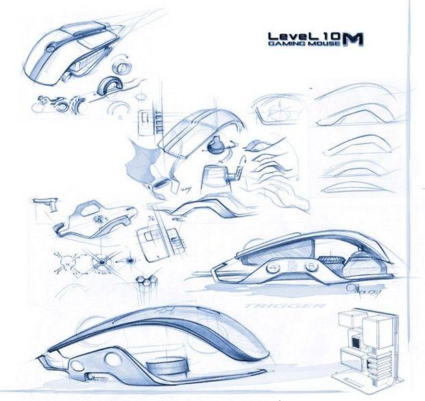 BMW DesignworksUSA Thermaltake Level 10 M Mouse 4