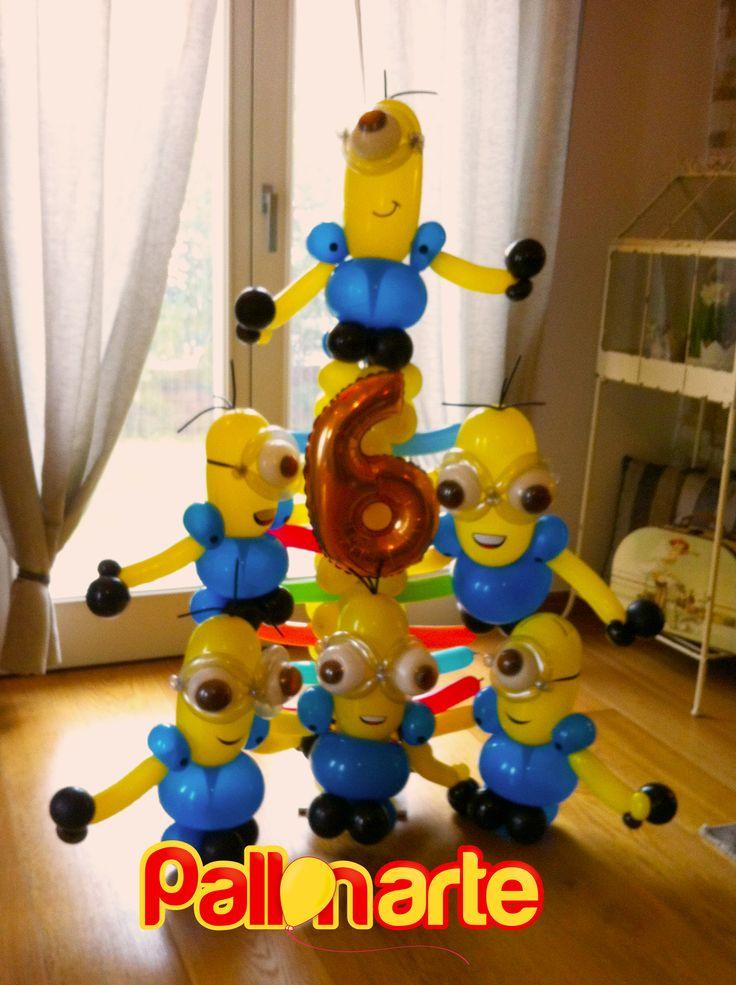 #despicable me - cattivissimo me palloncini #minions #balloons