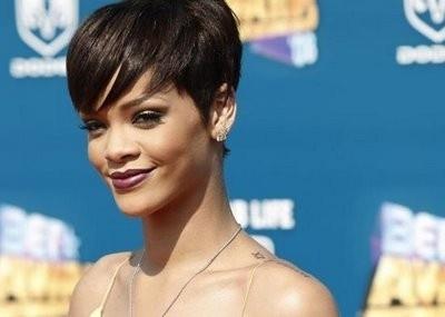 Rihanna short hair short-hair