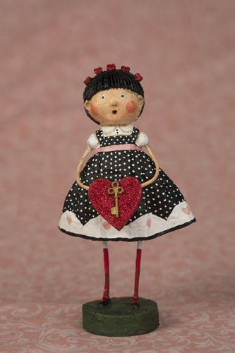 Lori Mitchell - Key to My Heart - Wooden Duck Shop