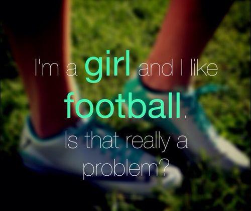 ... and no I do not mean American football haha