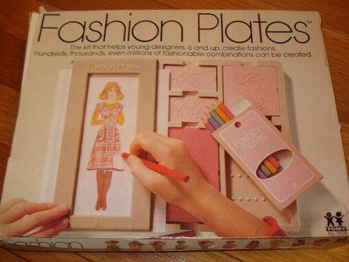 Fashion Plates!
