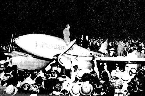 The Burberry Comet Racer