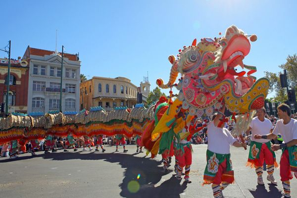 Come to Bendigo on this Saturday &or Sunday. See rich Chinese culture on display, watch 新龙 and his retinue parading proudly through the streets of Bendigo. A sight to behold!. Visit www.bendigochinese.org.au/ and http://www.goldendragonmuseum.org/