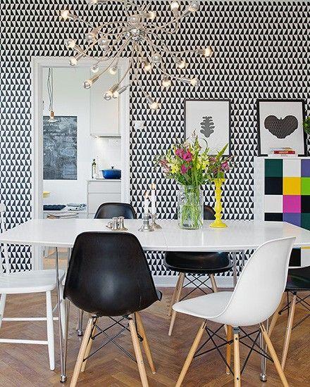 87 best images about inspirations papier peint on. Black Bedroom Furniture Sets. Home Design Ideas