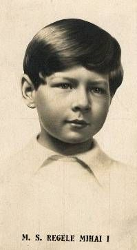 King Michael of Romania during his first reign as a little boy.