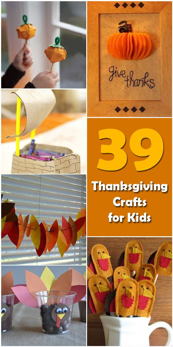 Learn about the origin and history of 39 Fun Thanksgiving Crafts for Kids, or browse through a wide array of 39 Fun Thanksgiving Crafts for Kids-themed crafts,