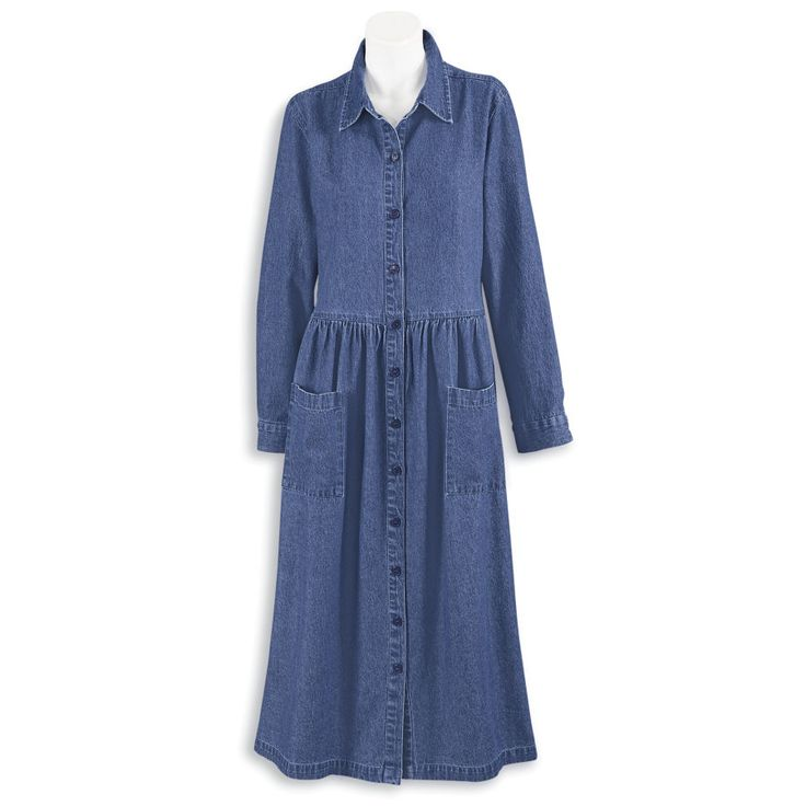 Denim Weekend Dress - Women's Clothing – Casual, Comfortable & Colorful Styles – Plus Sizes