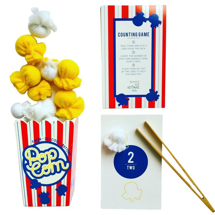 make me iconic pop corn wooden toy
