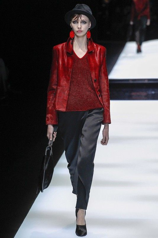 Милан: Giorgio Armani осень-зима 2017-2018: myfashion_diary