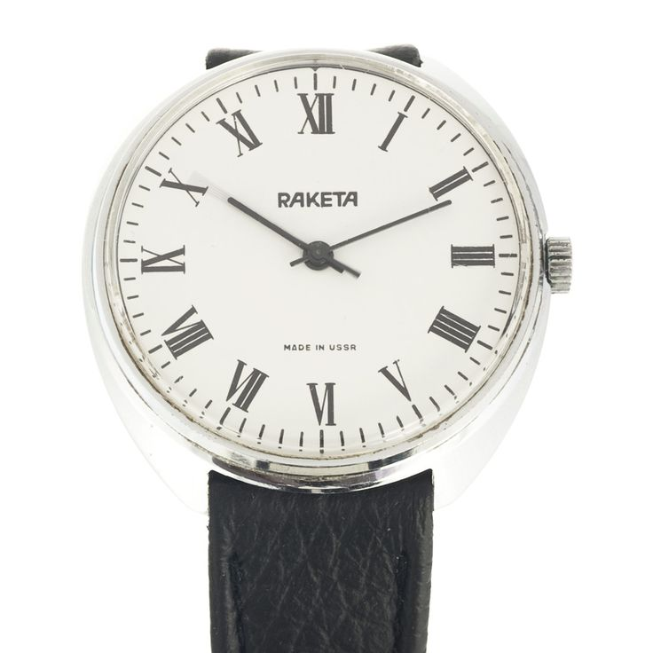 Have you seen a Raketa watch similar to this? Great minimal style in a 38 mm case