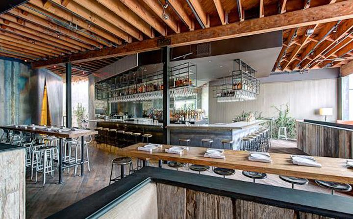 weho restaurants hospitality restaurant pinterest lights restaurant and open kitchens - Restaurant Open Kitchen Design