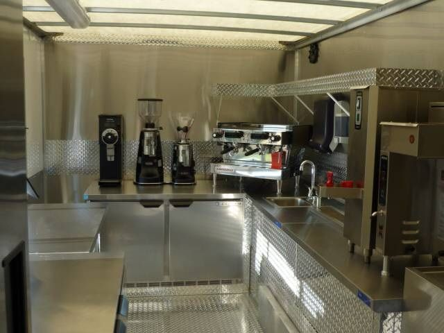 Inside a Coffee Truck - Bing Images