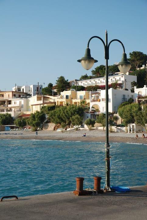 Myrthies beach. Kalymnos.