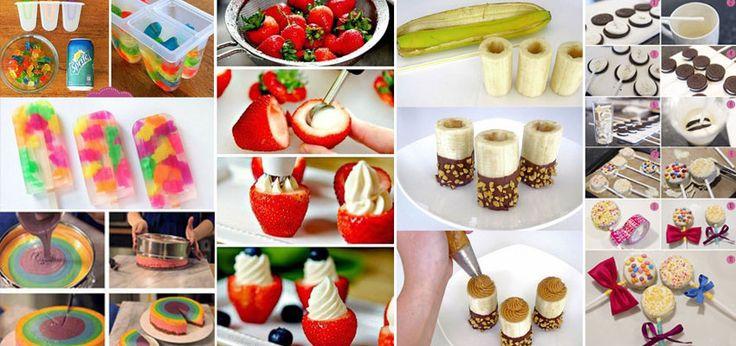 Faça a você mesma - 22 doces para festa infantil do seu filho