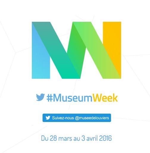 Le Musée de #Louviers vous invite sur sa timeline Twitter pour vivre avec vous la #MuseumWeek 2016