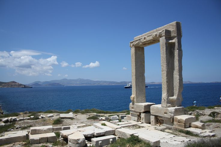 The Portara Gate Naxos