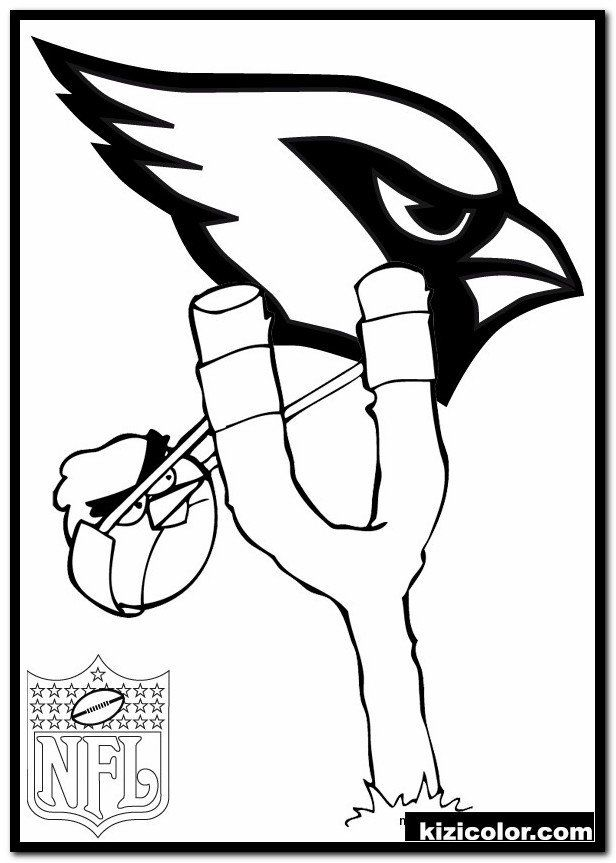 Arizona Cardinals Coloring Pages Dÿz Cardinals Logo Coloring Pages 1 Kizi Free Coloring In 2020 Coloring Pages Football Coloring Pages Bird Coloring Pages