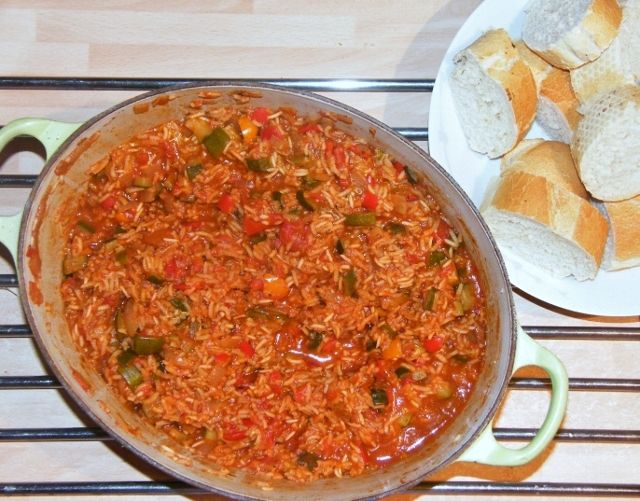 Tinned Tomatoes: 5:2 Diet - One Pot Southern-Style Rice