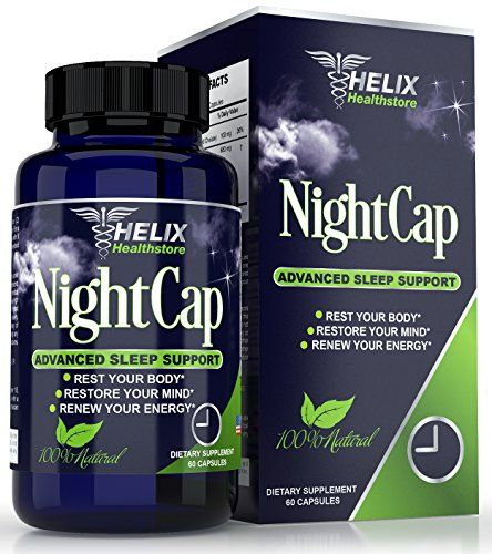 BEST Natural Sleep Aid Supplement For Adults - Advanced Formula for Deep Sleep