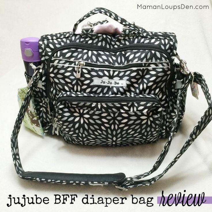 Jujube BFF Diaper Bag Review - Maman Loup's Den