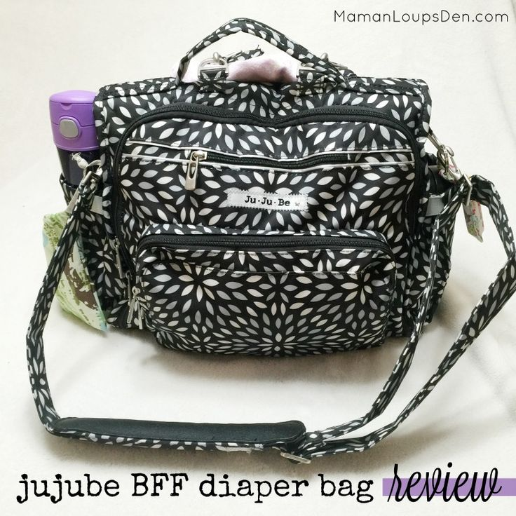 Jujube BFF Diaper Bag Review - Maman Loup's Den