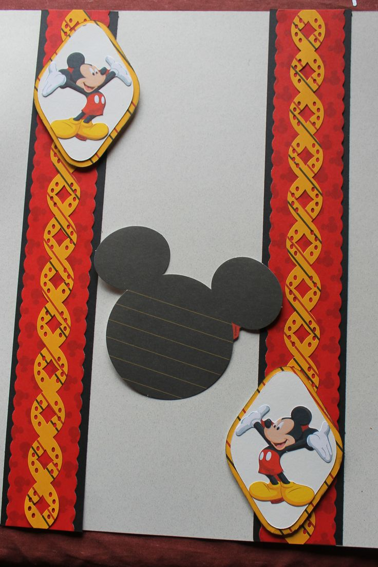 How to scrapbook disney - Disney Done With One