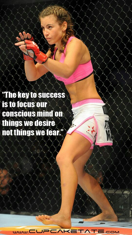 Miesha Tate & Inspirational Quote