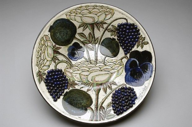 Birger Kaipiainen Wallsculpture/Plate for Arabia Finland