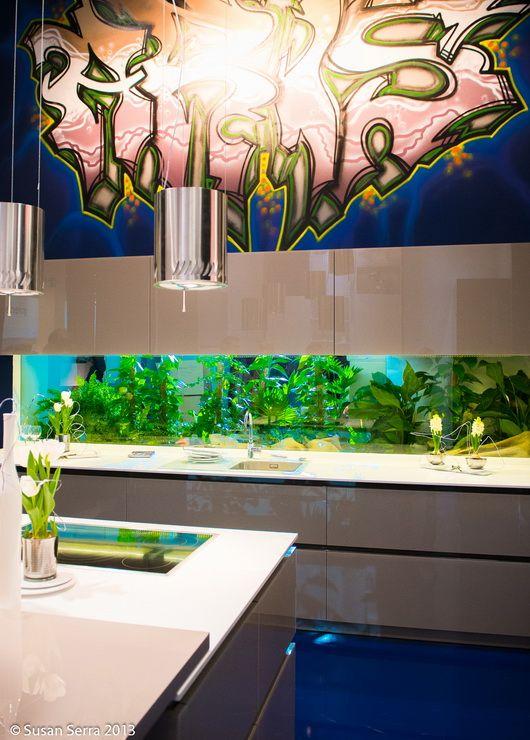21 best kitchen aquarium images on pinterest fish tanks for Spacearium aquariums
