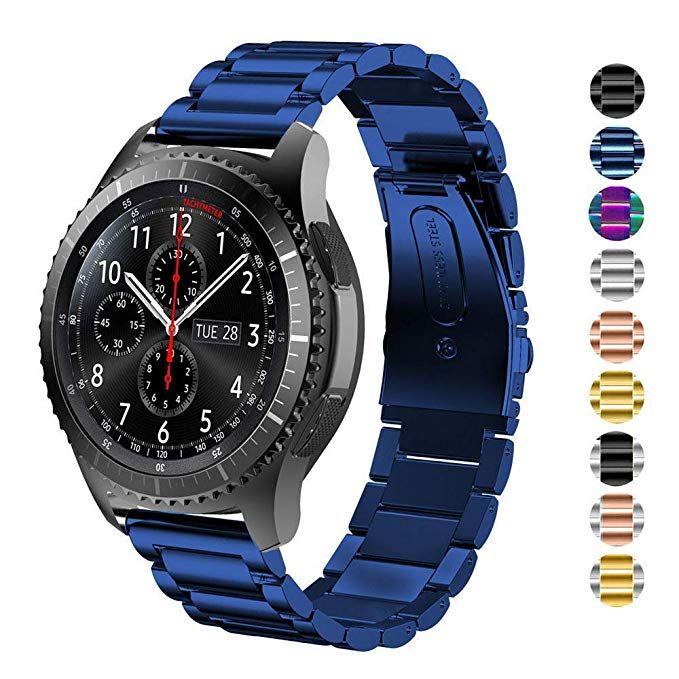 2 Pack 26mm Quick Easy Fit Soft TRUMiRR Compatible Fenix 5X//5X Plus Watchband