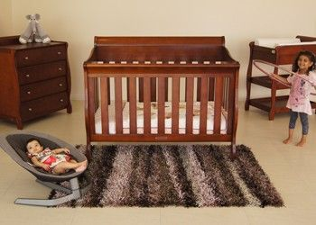 Babyhood Amani Sleigh Cot 6 Piece Package Deal