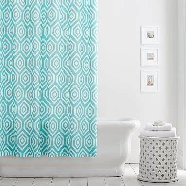 Diamond Pop Shower Curtain #pbteen