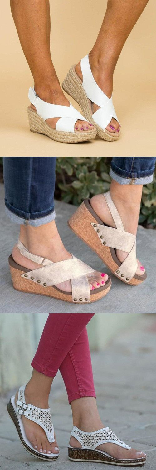 Women Casual Summer Wedge Sandals For You – Women Shoes