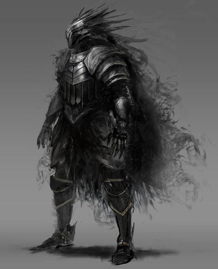 black knight, Morgan Yon on ArtStation at https://www.artstation.com/artwork/black-knight-c1e55bc6-9b7c-4b3c-8c12-3add1cebe338