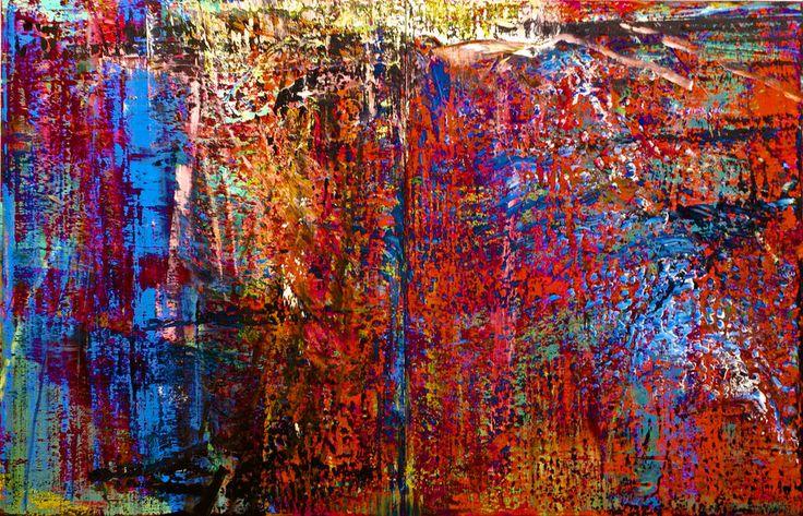 Abstraktes Bild (Nº 635) (1987) - Gerhard Richter (1932) | Flickr