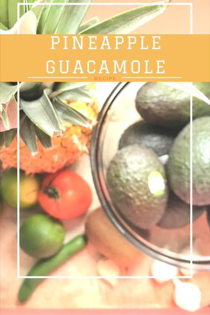 Need a new kick to your regular guacamole? Then try out this pineapple Kiwi Guacamole | summer dish | Pineapple guacamole | summer guacamole | easy guacamole | avocado |