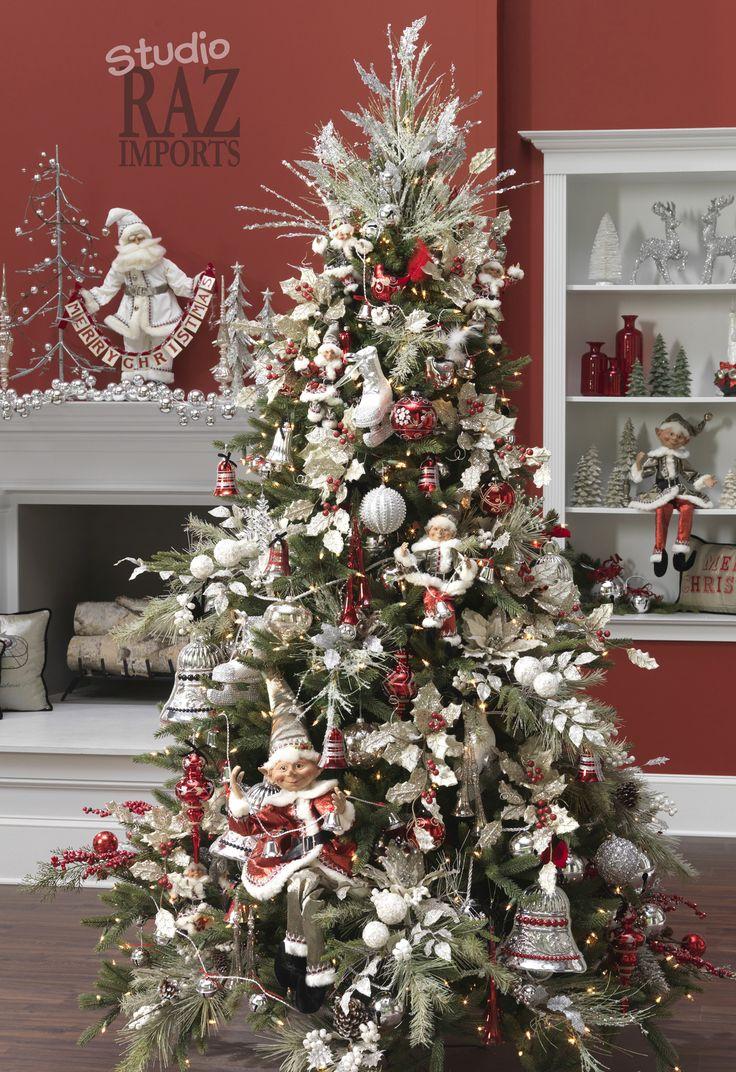 172 best raz past christmas trees images on pinterest christmas trees xmas trees and. Black Bedroom Furniture Sets. Home Design Ideas