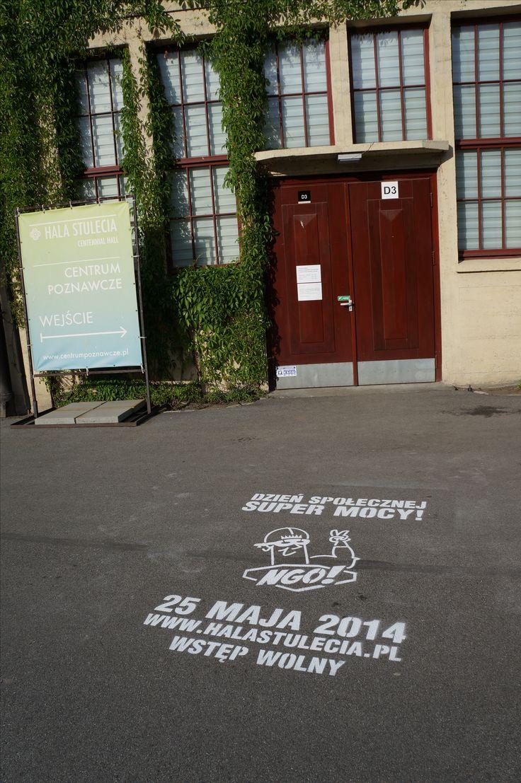 Milk Graffiti for NGO Festival