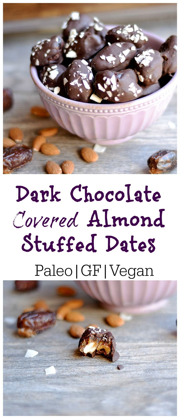 The PERFECT clean eating dessert. Only 4 ingredients, super simple, and my new favorite way to eat chocolate!!