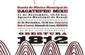 Se presentará en Donají, Banda de Música Municipal de Zacatepec Mixe