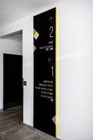 Signalisation // Centre multifonctionnel Saint-Apollinaire