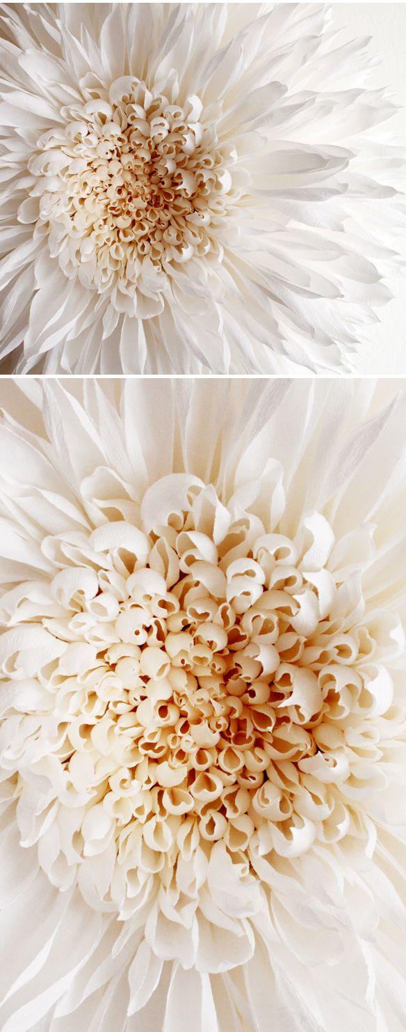 tiffanie turner's GIANT paper flowers