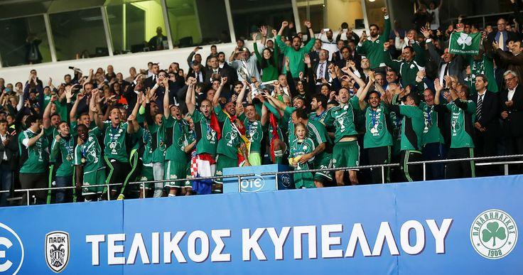 «Σήκωσε» το Κύπελλο ο Παναθηναϊκός
