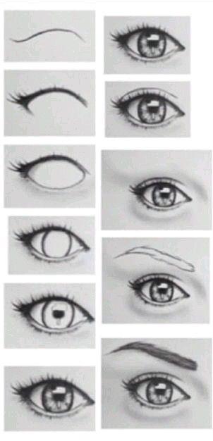Ojos figurines