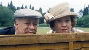 ... and Clive Swift starred in 'Keeping Up Appearances.' (BBC