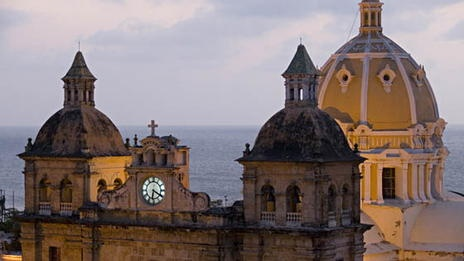 COLOMBIA - Port, Fortresses and Group of Monuments, Cartagena. The most extensive fortifications of South America making it one of the most important ports of the Caribbean during the Spanish occupation. Heritage since 1984