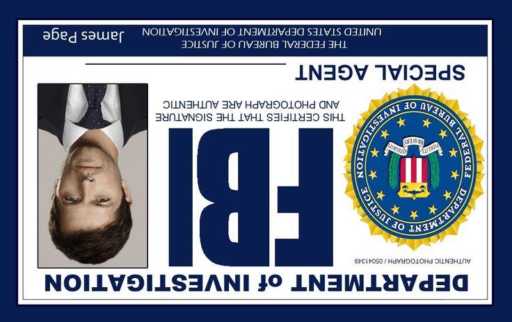 Supernatural FBI ID's | CRAFTS/FUN STUFF | Pinterest