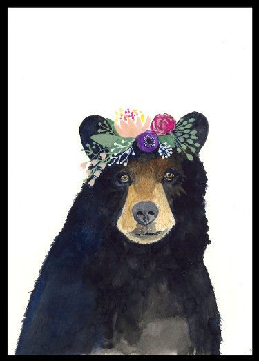 Woodland Nursery Art, Set of Prints, Animal Paintings, Fox, Bear, Deer, Owl, Animal Wall Art, Childrens Wall Decor, Kids Art Print, Forest